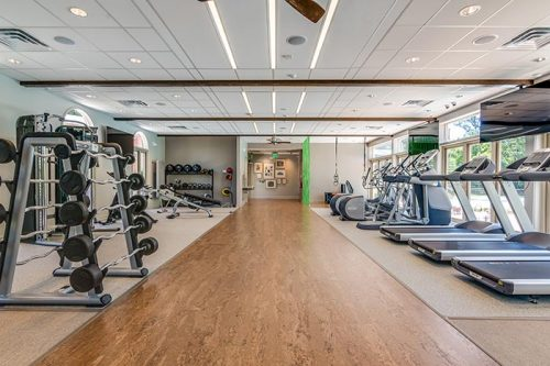 Renovated Multifamily Fitness Center